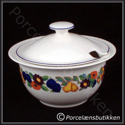 Sovseterrin. 60 cl. Gylden Sommer - Sauces tureen. 60 cl. Golden Summer - Royal Copenhagen